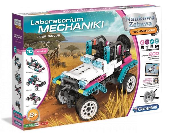 Laboratorium mechaniki Jeep Safarii 50123 Clementoni